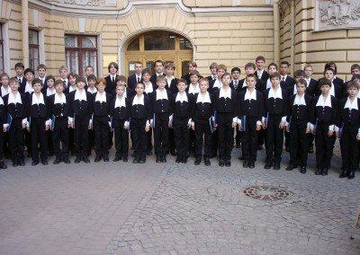 St. Petersburger Knabenchor aus Russland