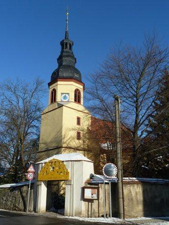 Pastor-Roller-Kirche Weixdorf