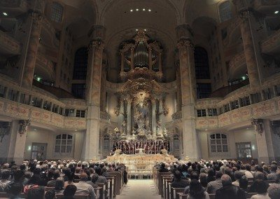 Abschlusskonzert Frauenkirche Dresden
