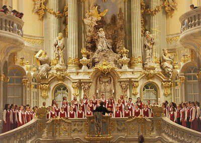 Frauenkirche Dresden  Kinderchorfestival Dresden